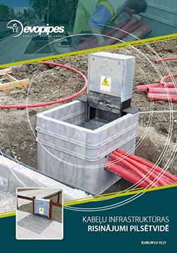 Kabeļu infrastruktūras risinājumi pilsētvidē LV