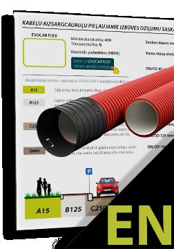 EVOCAB HARD N750 minimum permissible depth of embedment