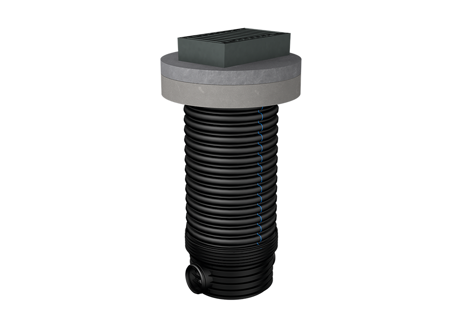 Gullies DN 600 with square grate