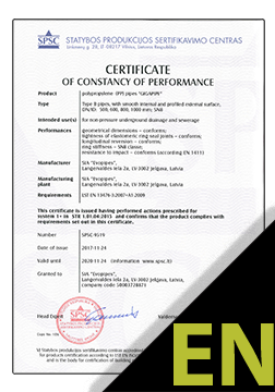 GIGAPIPE Certificate ENG (SPSC)